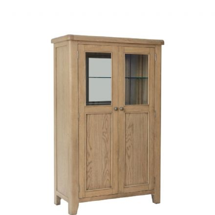 Henley Oak Drinks Cabinet